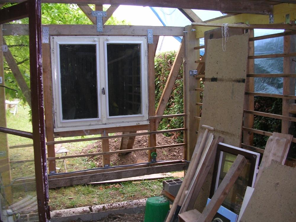 Intégration des portes et fenêtres de récupération