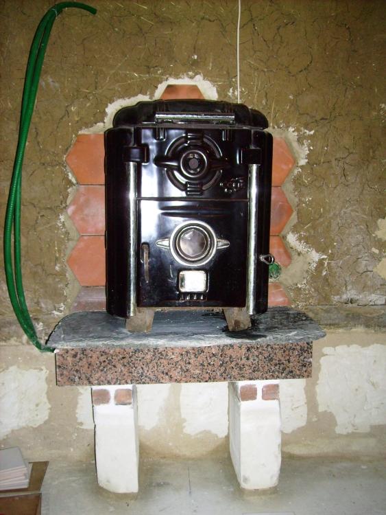 Le système de chauffage, un poele à bois