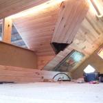 Le plafond en lambris