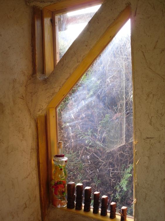Une fenêtre d'angle