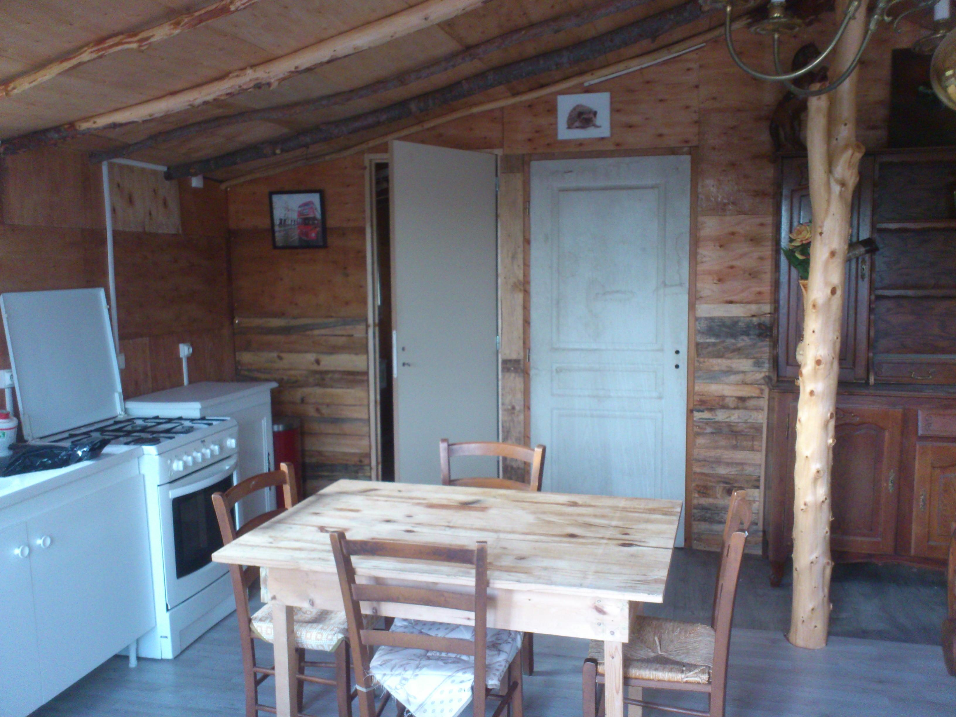 Les portes pour l'accée salle de bain et chambre